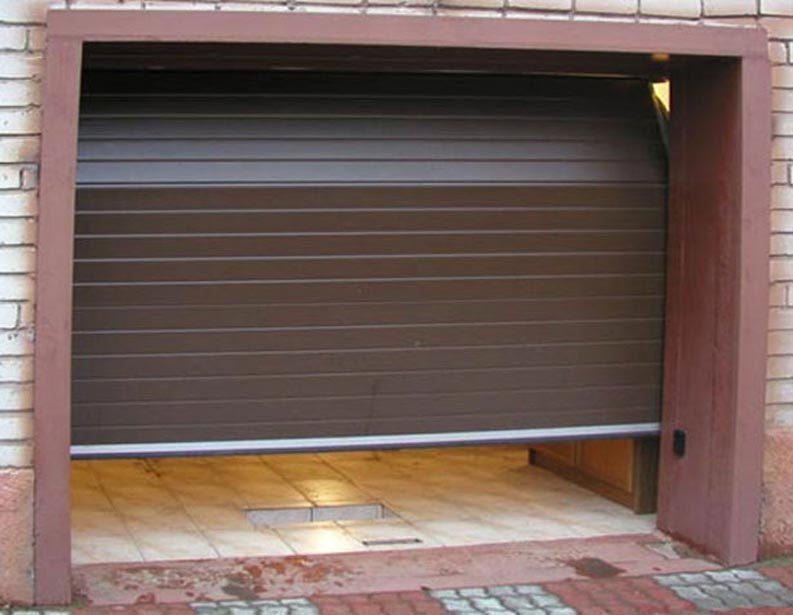 Базовая комплектация секционных гаражных ворот DOORHAN (стандартный подъем - притолока от 350 до 550мм...